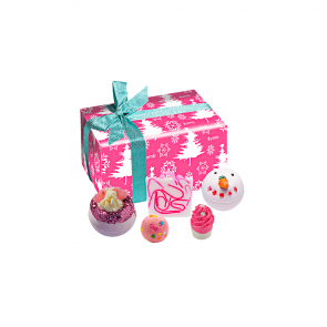 Coffret cadeau Dreaming of Pink Bomb Cosmetics