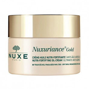 CREME HUILE NUTRI FORTIFIANTE NUXURIANCE GOLD